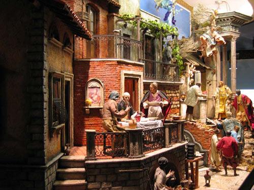 I mercatini di natale e la tradizione dei presepi napoletani