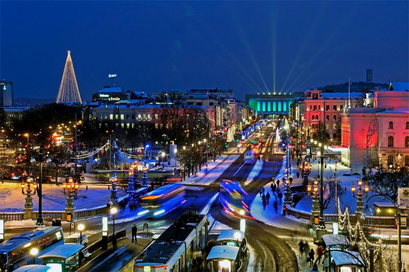 Natale a Göteborg, la città della luce e dei mercatini natalizi