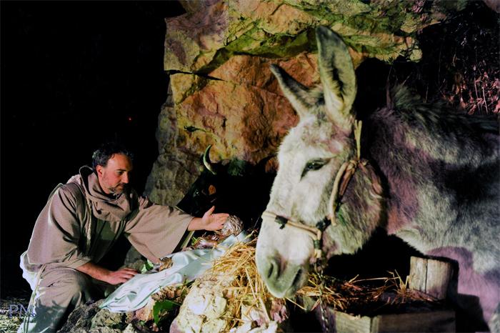 Torna il Presepe di Greccio, la tradizione che fa rivivere più di ogni altro luogo l'atmosfera del Natale