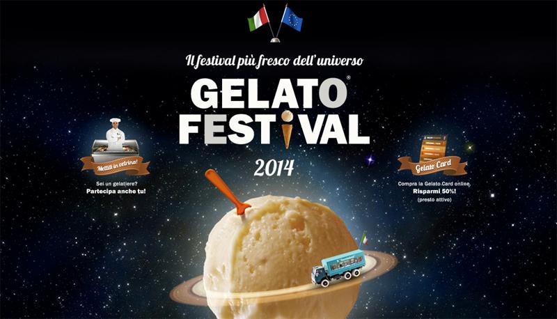 Gelato Festival Tour 2014: al via l'evento itinerante più dolce dell'anno