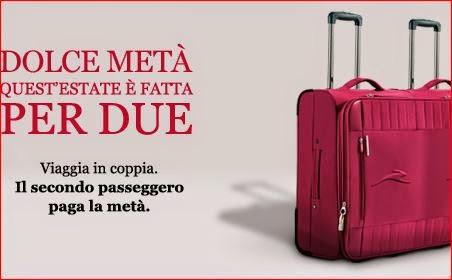 Italo Treno: sconti sul biglietto per chi viaggi in coppia