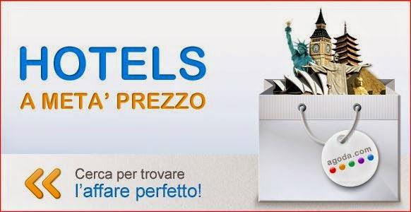 Agoda.com, soggiorno scontato del 50% negli hotels di tutto il mondo