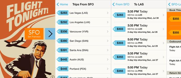 Flight Tonight, l'app che trova i voli last minute più convenienti